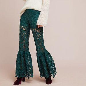 Anna Sui Baroque Lace Pant Size Petite